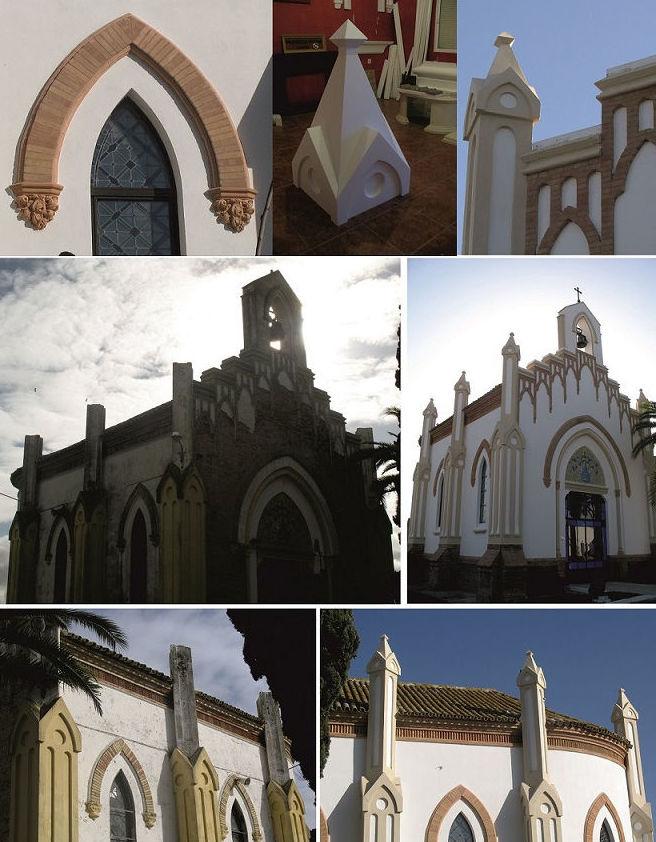Restauración de la capilla del cementerio de Huelva