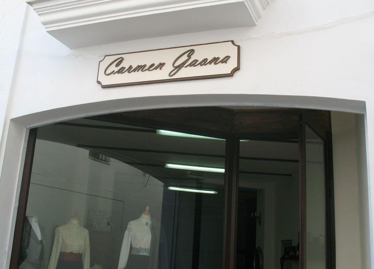 Cartel para tienda de ropa