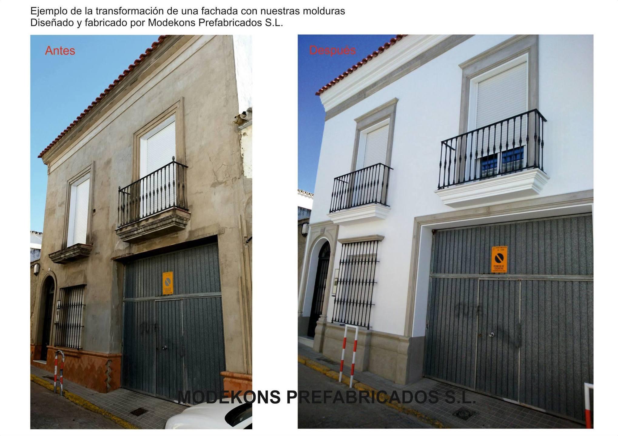 Restauración de fachadas Sevilla / Modekons Prefabricados