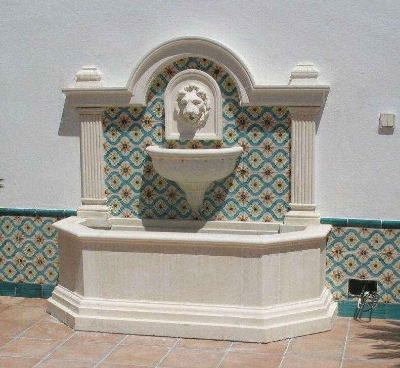 Fuente para pared
