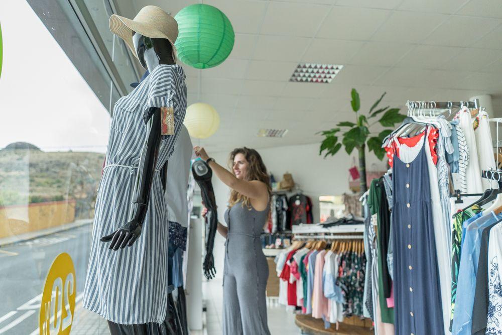 Maniquíes con ropa de moda