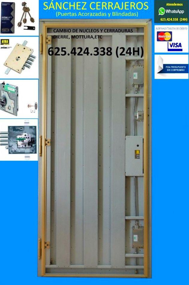 Puertas Acorazadas 625.424.338 (Toledo - Murcia - Almeria - Madrid Sur)