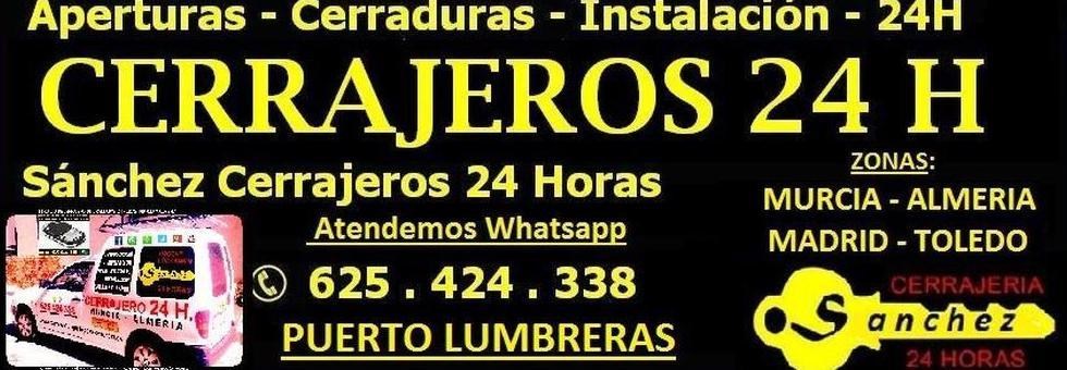 cerrajeros 24 horas en Puerto Lumbreras - Almería