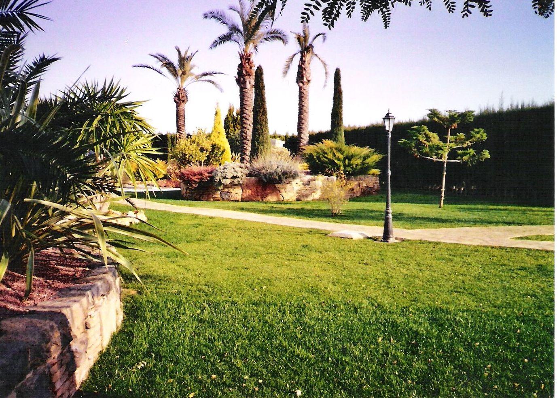 Resiembra de jardines en Valencia