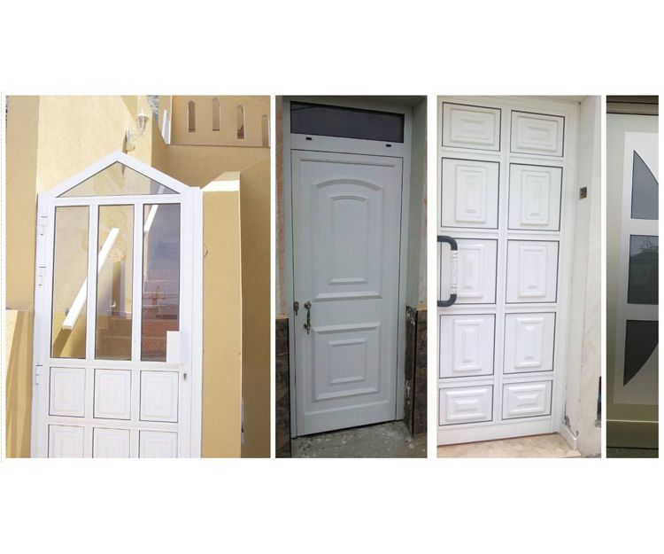 Gran variedad de puertas para viviendas