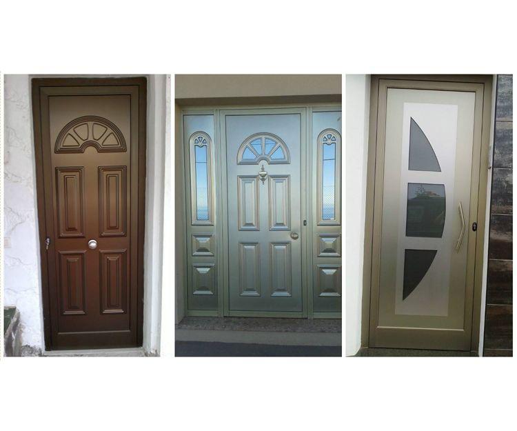 Gran variedad de puertas de aluminio