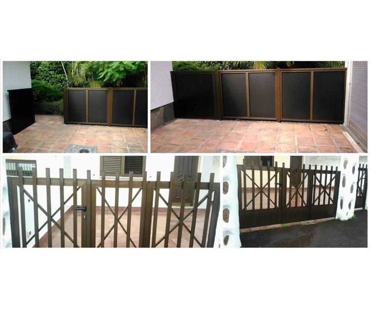 Puertas de entrada a viviendas