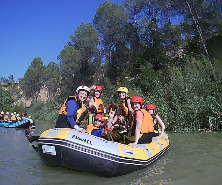 Rafting y kayak