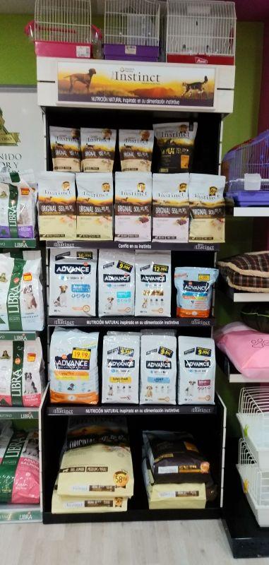 Productos de alimentación para mascotas en Valladolid