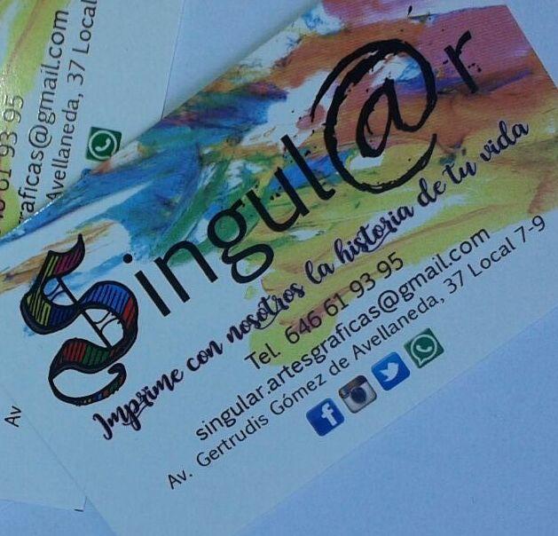Impresión láser: Productos y Servicios de Singul@r Artes Gráficas