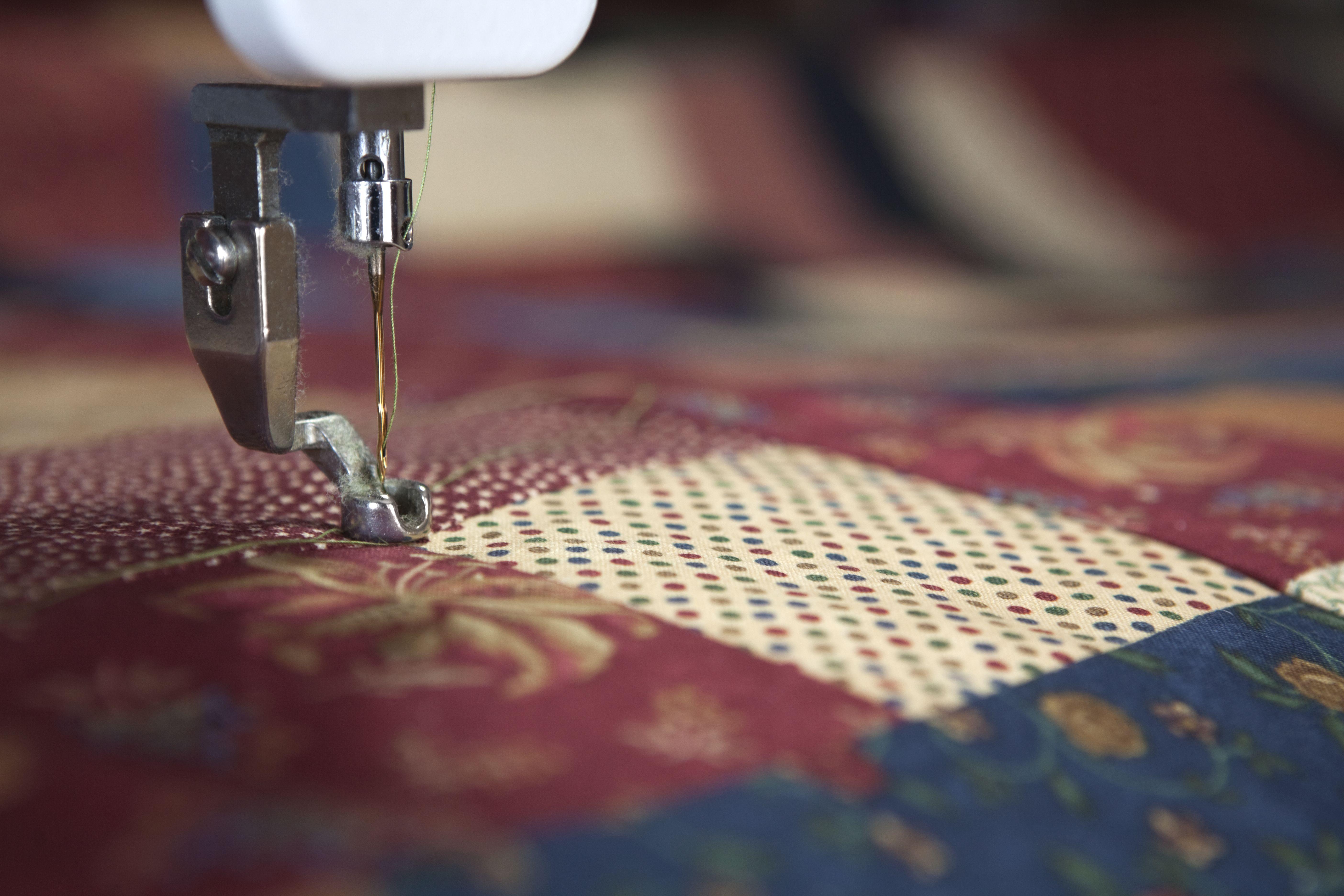 Confección del textil hogar en El Eixample, Barcelona