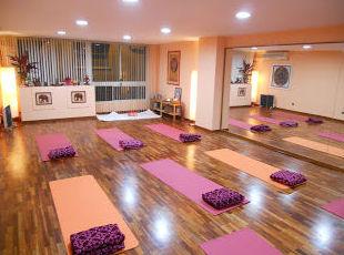 Centro de yoga en el centro de Barcelona
