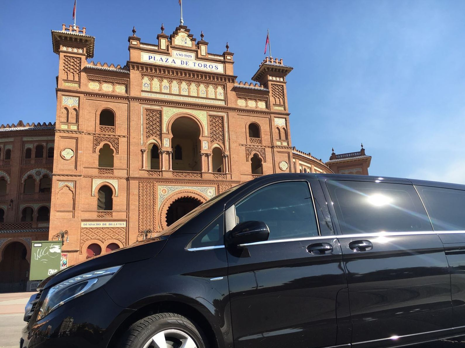 Car rental with driver in Madrid