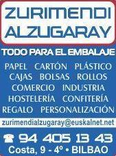 Foto 2 de Bolsas y sacos en Bilbao | Zurimendi Alzugaray