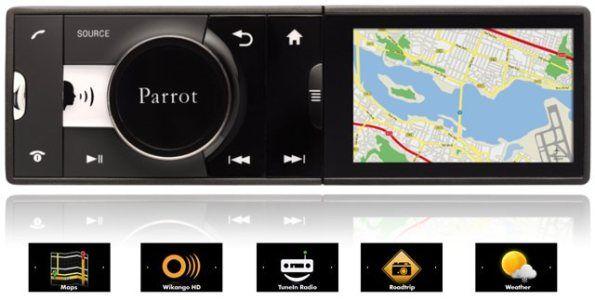 Parrot-Asteroid RADIO MP3 USB BLUETOOTH Sistema Operativo Android