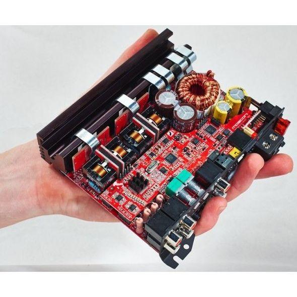 Amplificador MOSCONI clase D con procesador sonido DSP