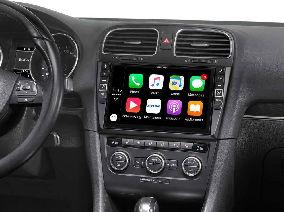 Radios multimedia CarPlay y Android Auto.