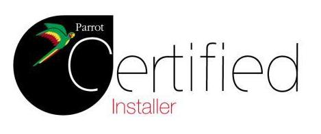 Instalador oficial certificado Parrot de manos libres Bluetooth.