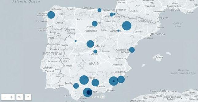 RADARES QUE MAS RECAUDAN EN ESPAÑA