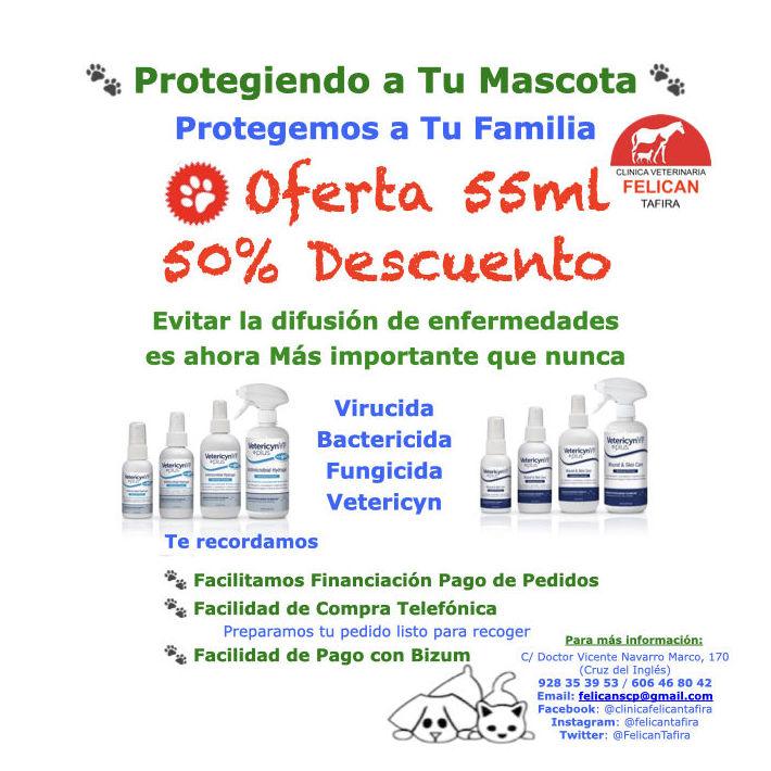 Protegiendo a Tu Mascota - Protegemos a Tu Familia Oferta 50% Descuento en 55ml