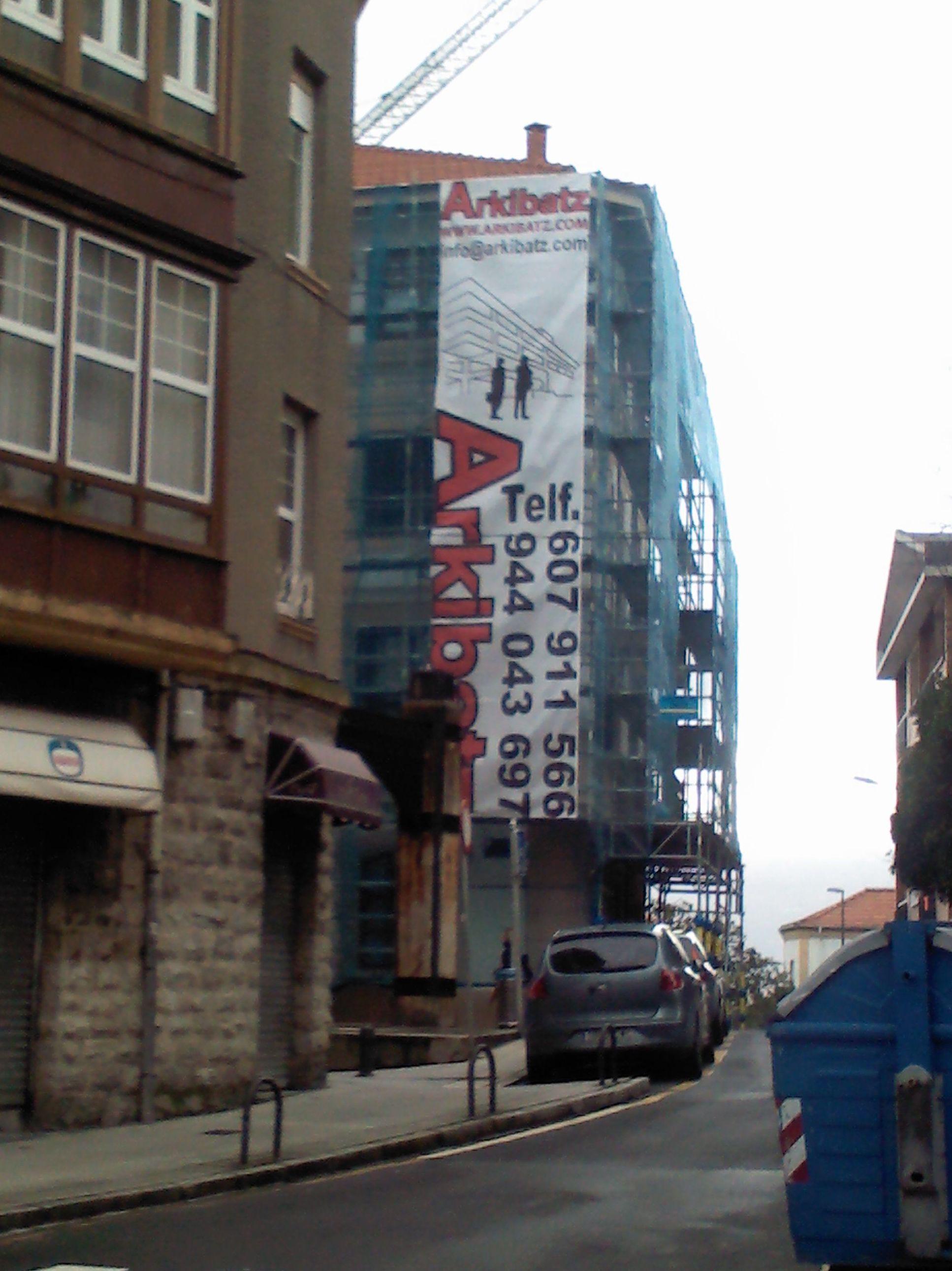 Foto 22 de Empresas de construcción en Getxo | Arkibatz