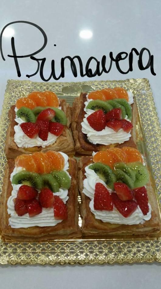 Pastelitos con frutas