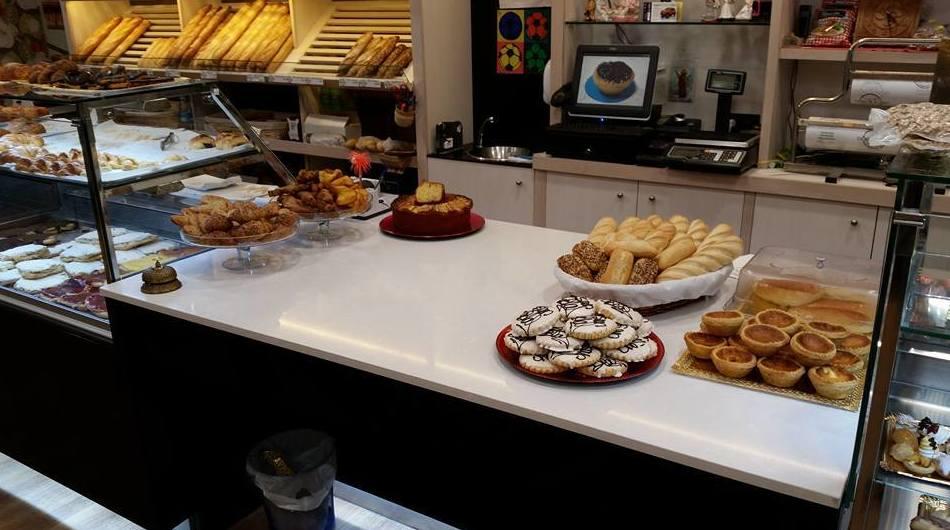 Mostrador de nuestra pastelería