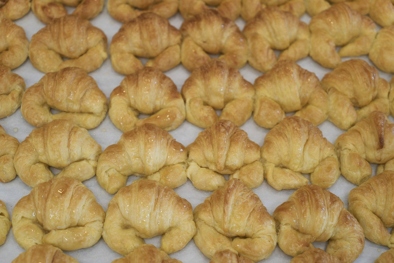Deliciosos croissants de Pastelería Txoko Gozo, Durango