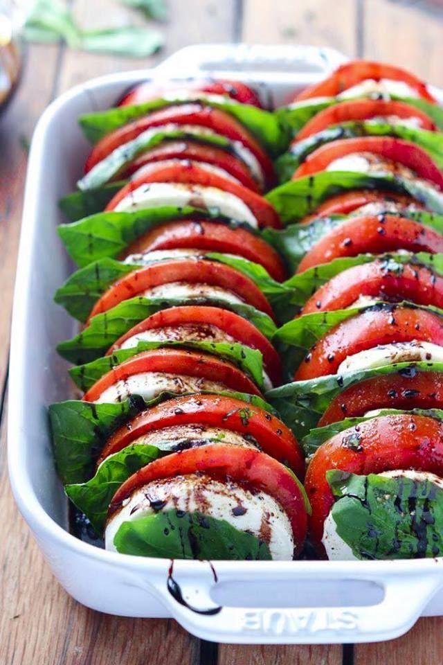 Ensaladas de tomate: Carta de La Encinita
