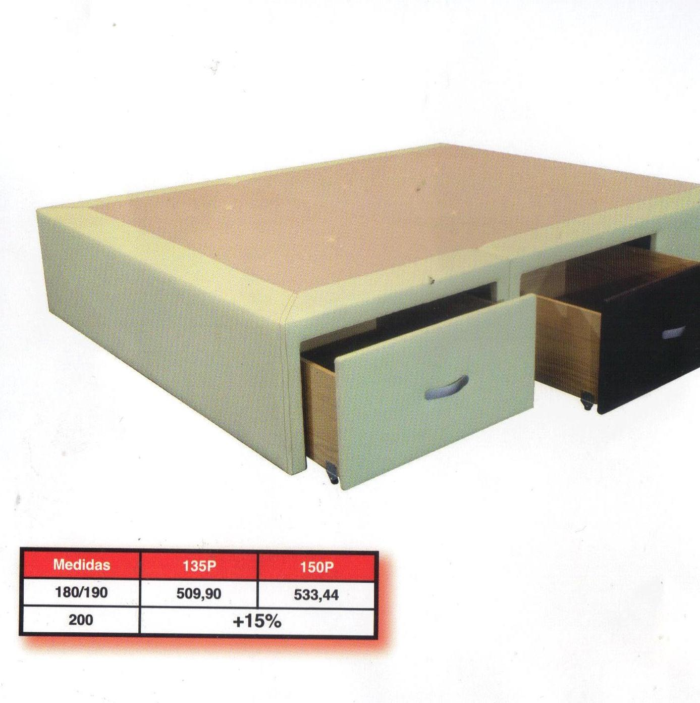 Canapé de cajones: Productos y servicios de Ahorra Mobel