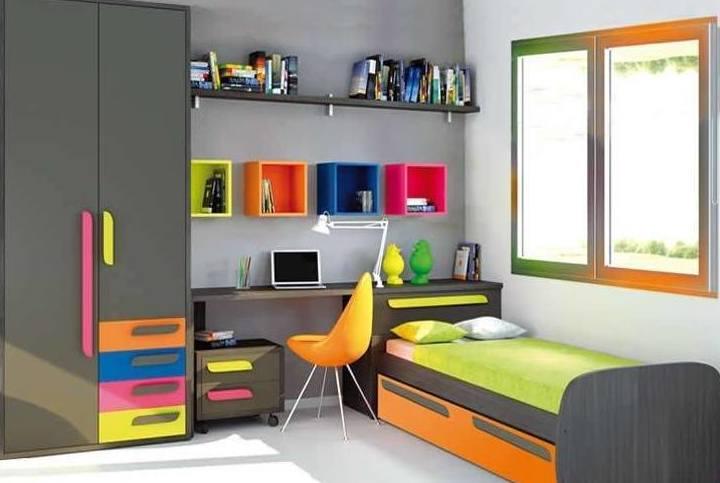 Como elegir los muebles para un Dormitorio Juvenil