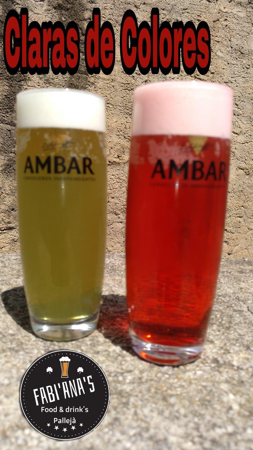Cervezas de colores