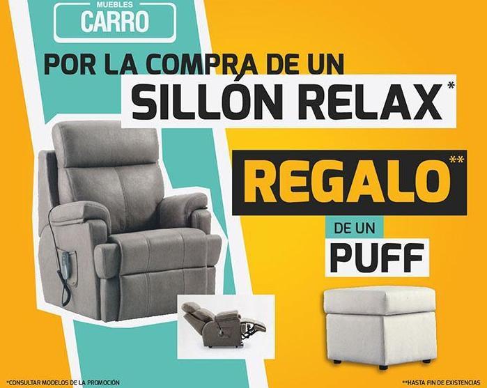 RELAX Y SOFAS CON REGALO