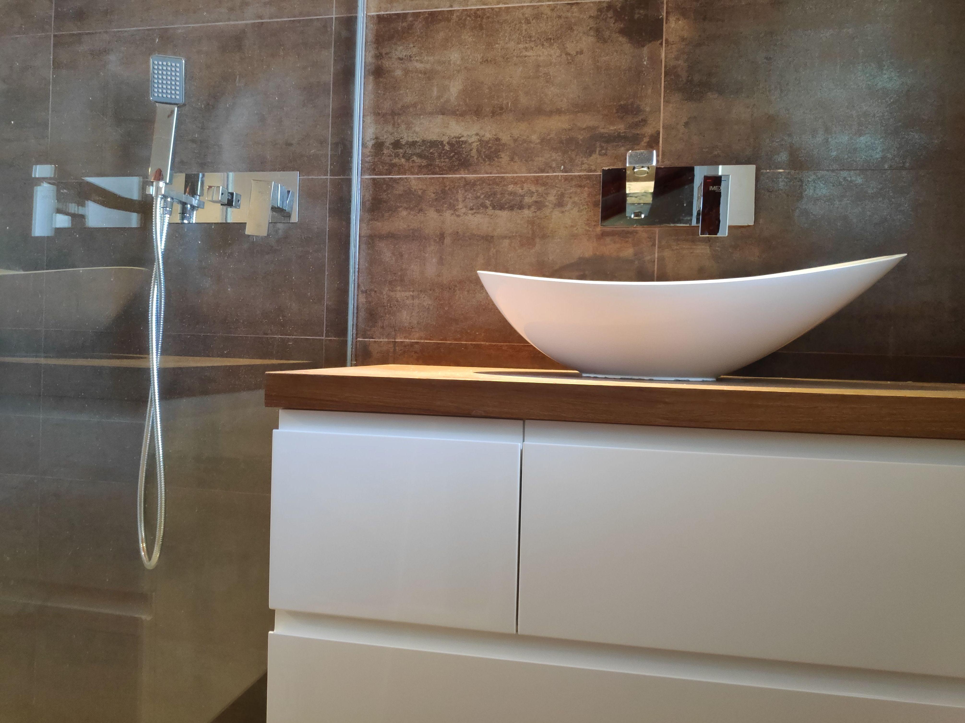Griferia empotrada, crea tu baño de diseño