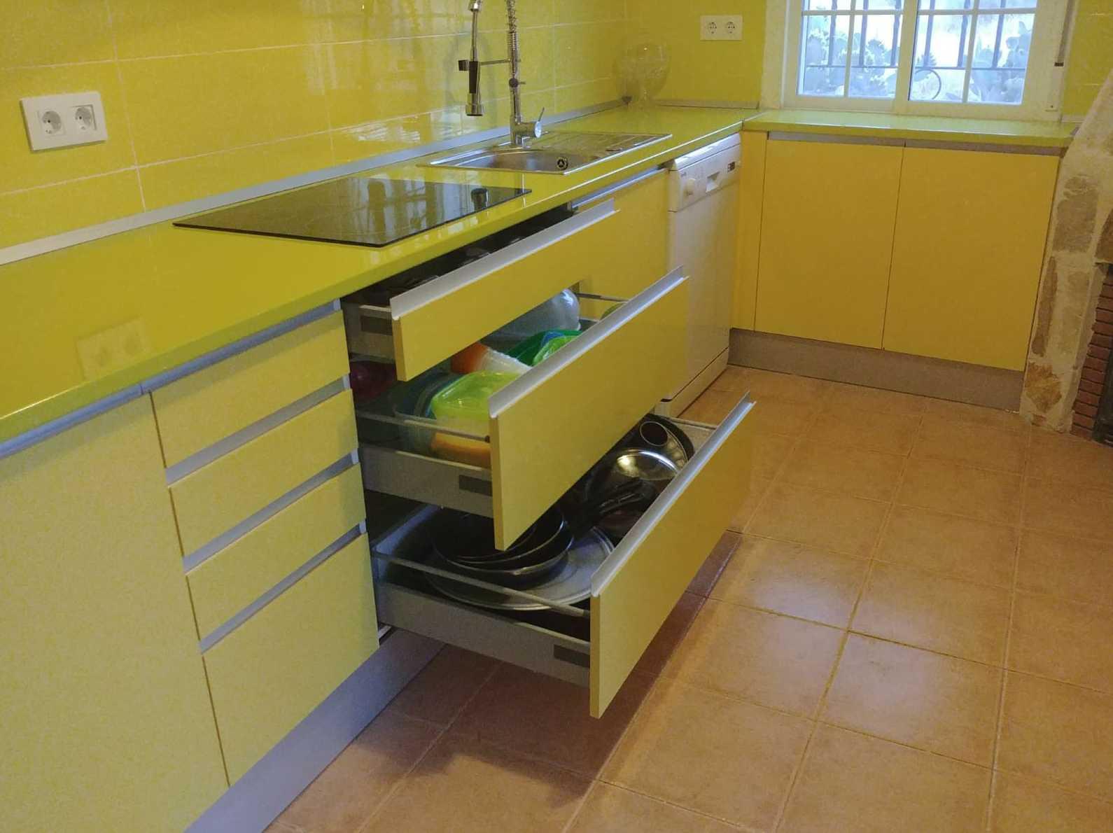 Creacicon de cocinas, segun gustos y necesidades