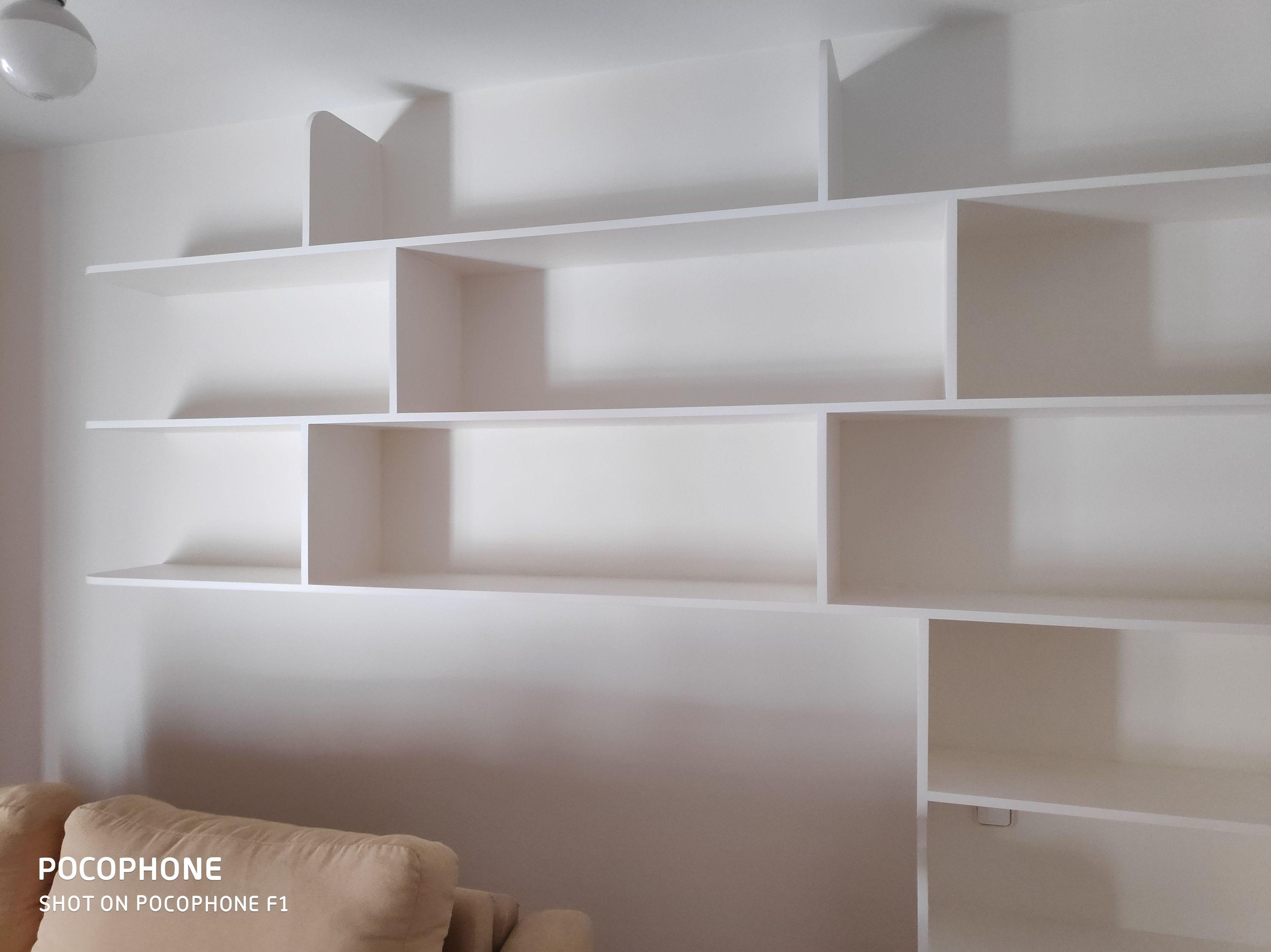 Pintura de paredes y lacado de estanteria