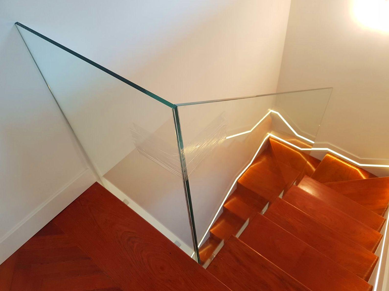 Barandilla de cristal