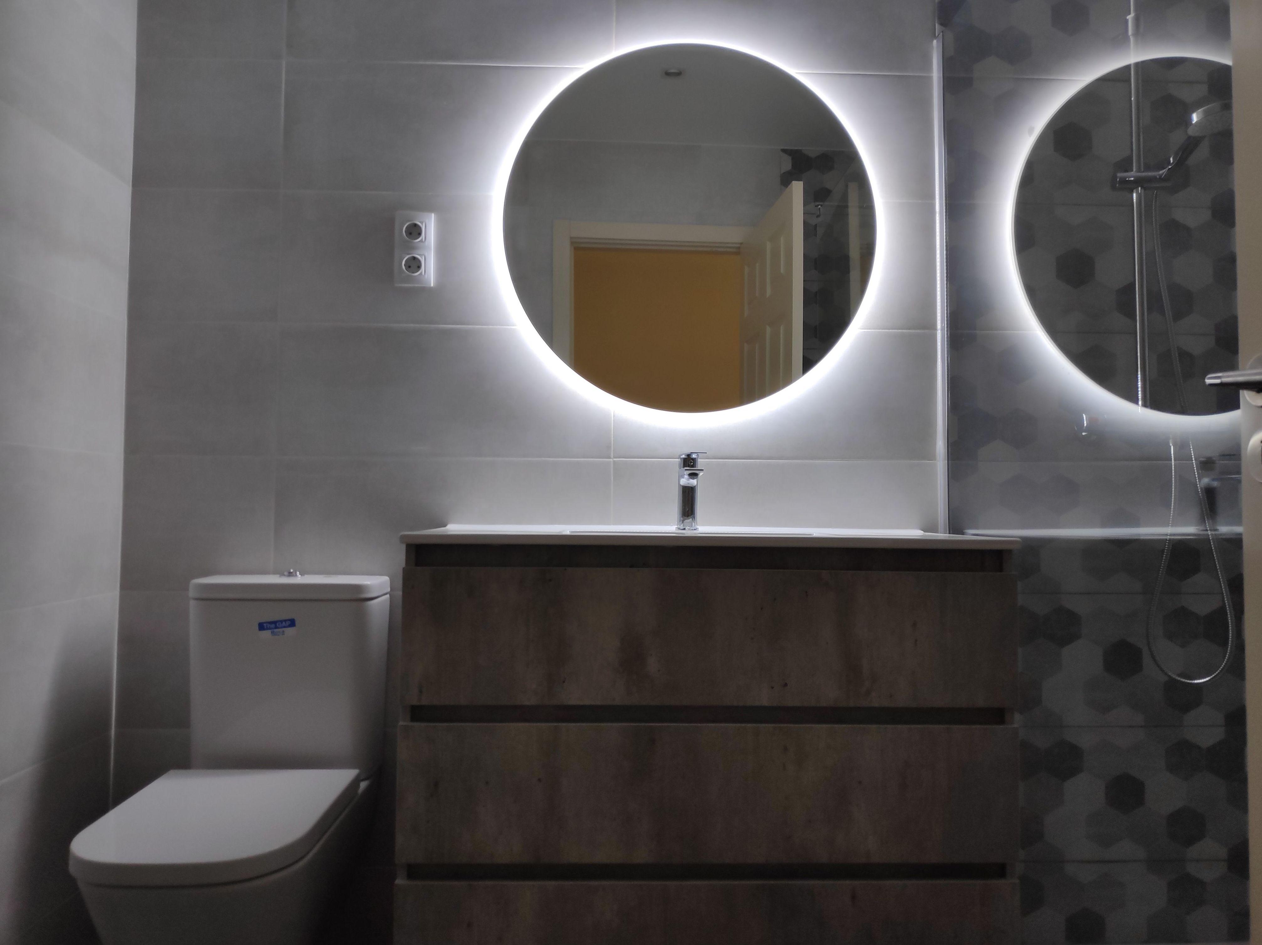 Espejos retroiluminados