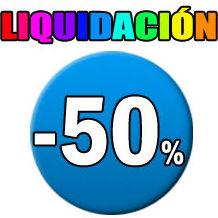 Liquidación hasta el 50%