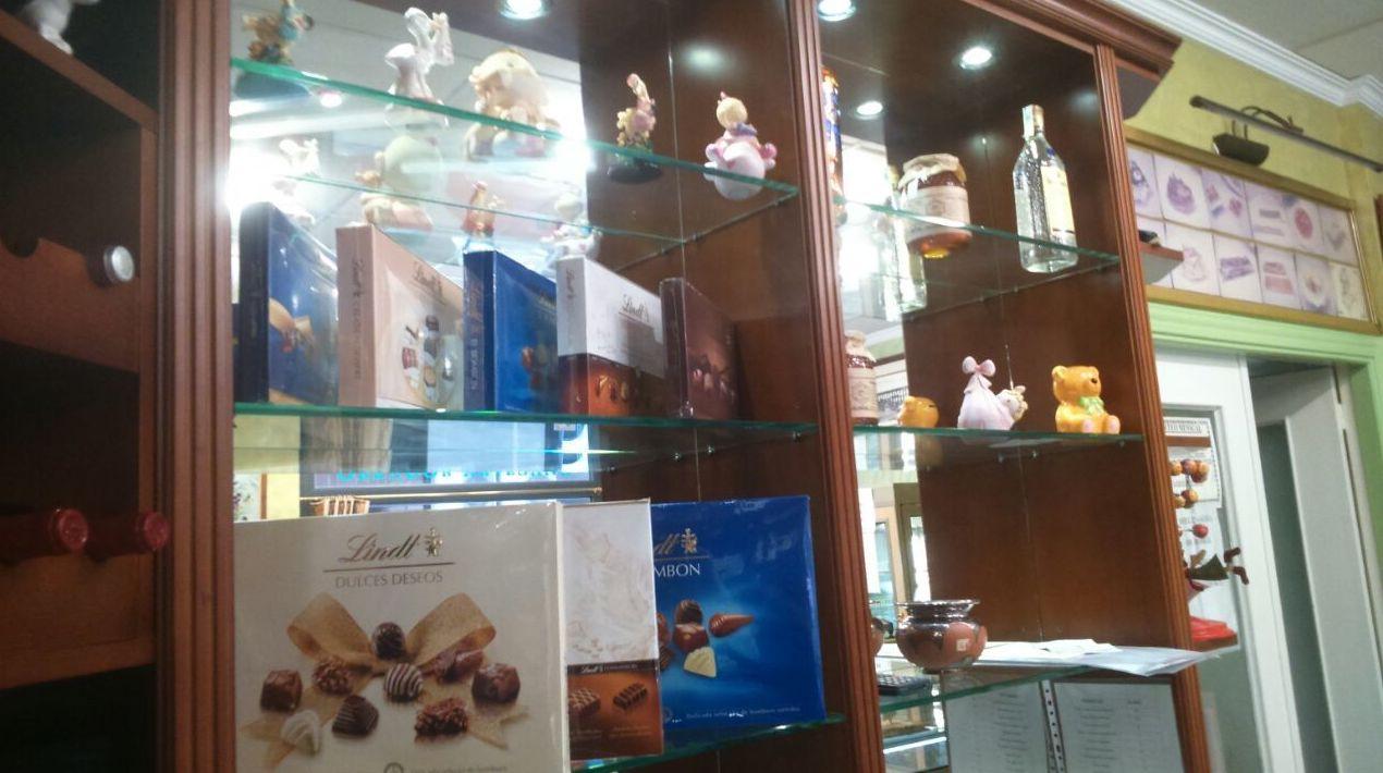 Dulces y bombones en Segovia