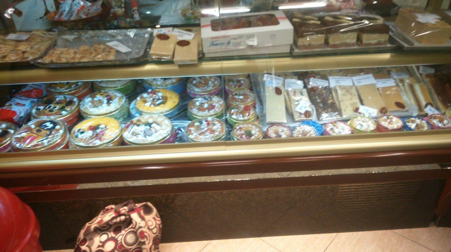 Productos de pastelería variados