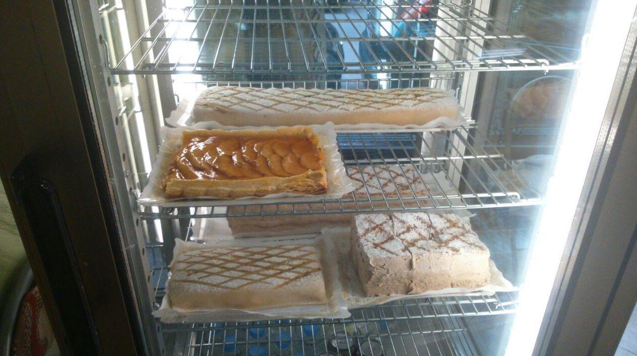 Especialidad en tartas y pasteles de hojaldre