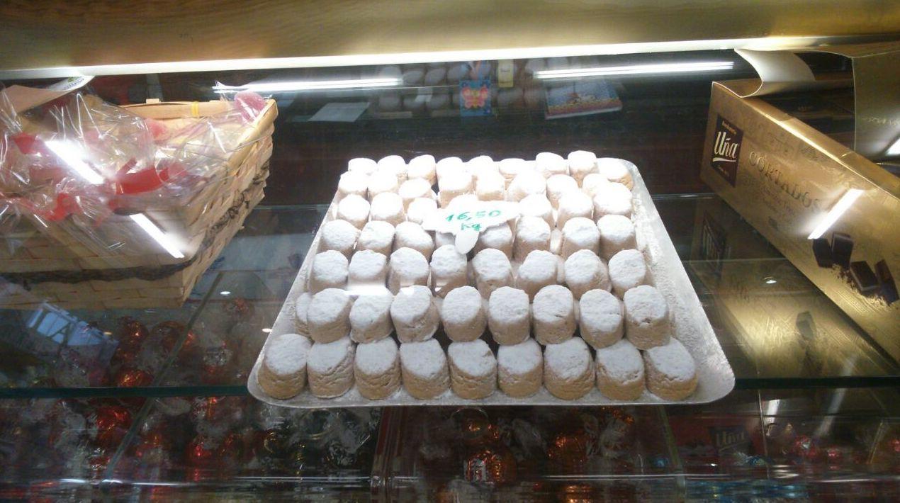 Dulces de hojaldre en Segovia