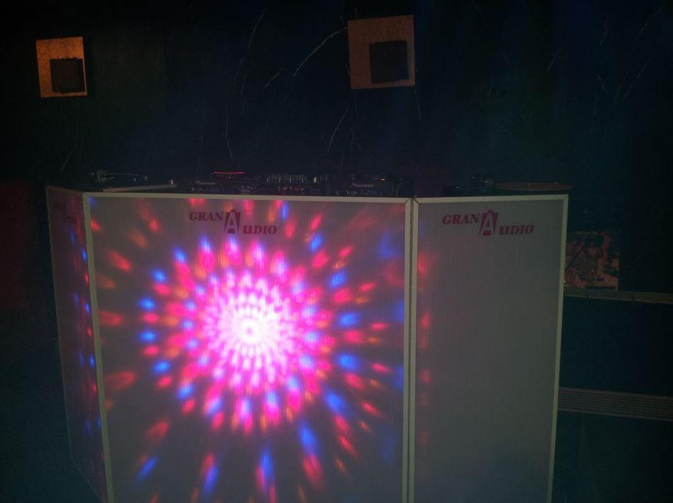 Iluminación y sonido para fiestas