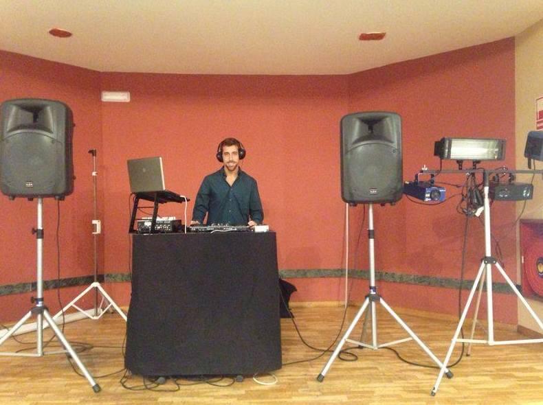 Sonorización e iluminación de eventos en Granaudio