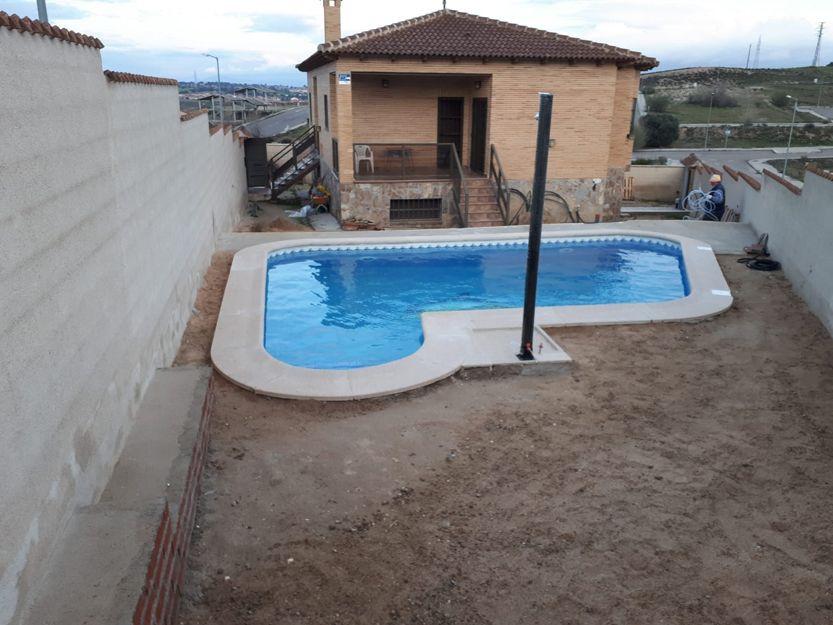 Instalación de piscinas en Valmojado, Toledo