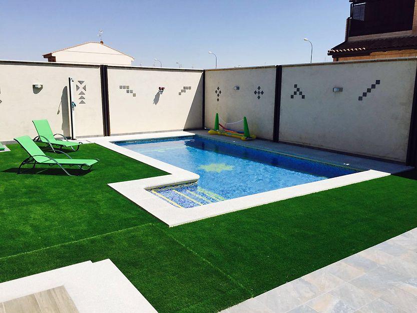Albardillas para piscinas en Toledo
