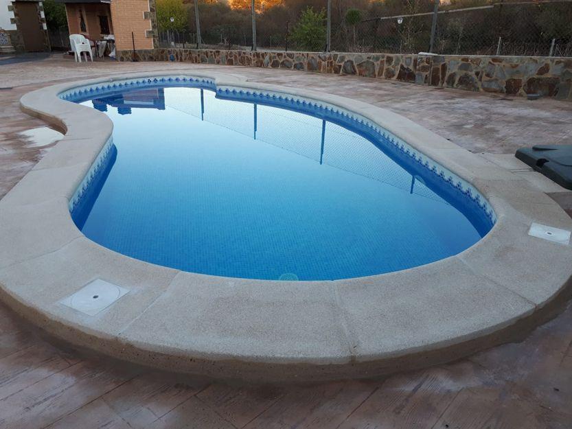 Instalación de  piedras de piscina en Valmojado, Toledo