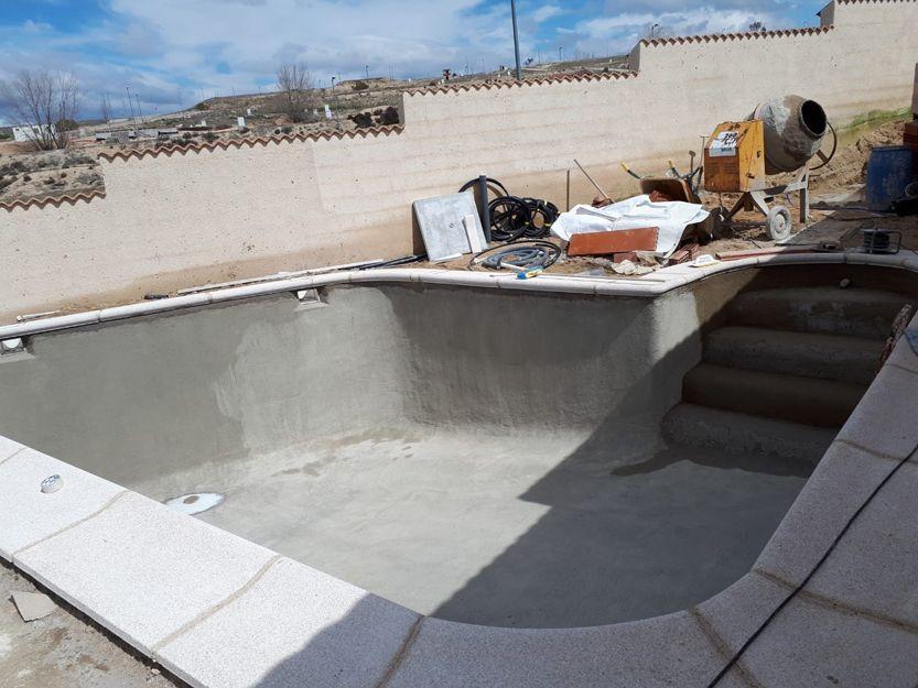 Piedras para piscinas en Valmojado, Toledo