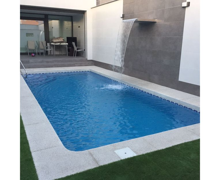 Albardillas anticaídas para piscinas en Toledo